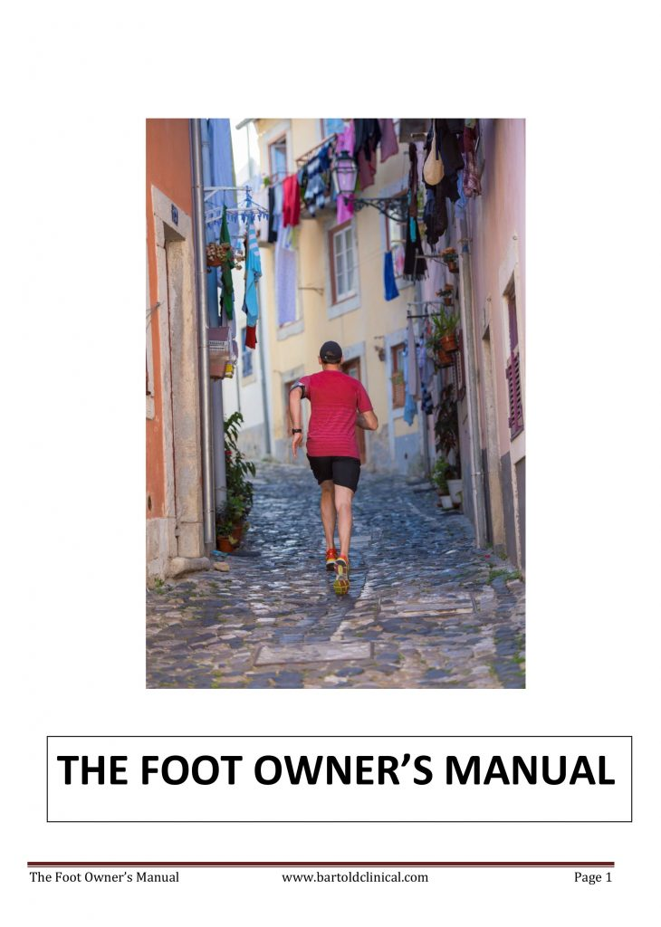 The Foot Owners Manual: 22 foot facts you must know