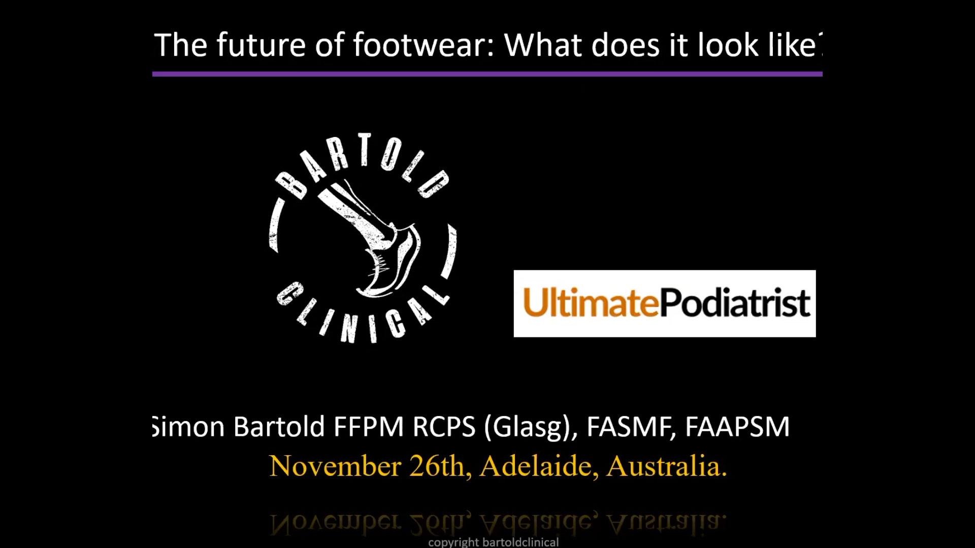 Ultimate Footwear Webinar